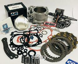 02-08 CRF450R CRF 450R Big Bore Stroker Crank Motor Rebuild Kit 99m Cylinder