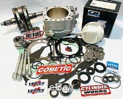 04 05 TRX450R TRX 450R Big Bore Stroker Motor Rebuild Kit Complete Crank 500c 97