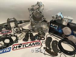 05-11 Brute Force 750 KVF750 90mm 840cc Hotrods Hotcams CP Big Bore Motor Kit