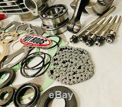 05+ TRX400EX TRX 400EX 400X 89m Big Bore Cylinder Complete Motor Rebuild Kit