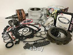 06+ TRX450R TRX 450R Big Bore Stroker Motor Complete Rebuild Kit Clutch 510cc 99