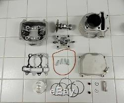 172cc 61MM BIG BORE KIT # 3 FOR CHINESE SCOOTERS WITH 150cc GY6 MOTORS