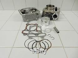 172cc BIG BORE KIT (61mm BORE) #1 FOR SCOOTERS KARTS ATVS WITH 150cc GY6 MOTORS