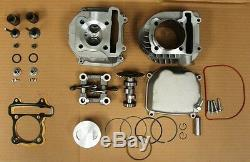 180CC 63MM BIG BORE KIT FOR CHINESE SCOOTERS WITH 150cc GY6 MOTORS