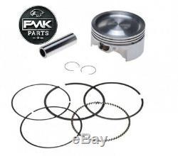 180cc 63mm Ceramic Big Bore Cylinder Barrel Upgrade Kit for Yamaha MT-125
