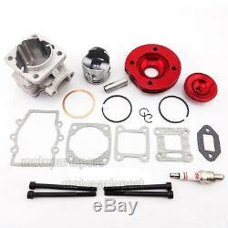 44mm Big Bore Cylinder Kit For 47 49cc Engine Mini Dirt ATV Pocket Bike Minimoto