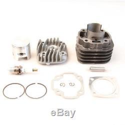 48mm 100cc cylinder big bore kit for JOG50 50CC YAMAHA BWS / ZUMA 50 1E40QMB