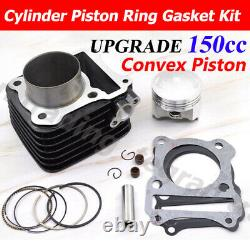 62mm Big Bore Cylinder Piston Kit For Suzuki GN125 EN125 GS125 GZ125 TU125 DR125