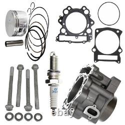686cc 102mm Big Bore Cylinder Piston Gasket Kit for Yamaha Grizzly 660 2002-2008