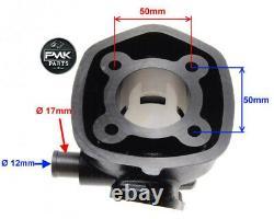 70cc Big Bore Cylinder Barrel Kit + Head for Yamaha Aerox MBK Nitro Mach G 50 LC