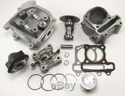 80cc Big Bore Kit Cylinder 69mm Head Piston Rings Chinese Scooter 50cc 60cc GY6