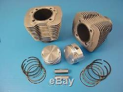 88 Evolution Big Bore Cylinder Kit Silver, for Harley Davidson, by V-Twin