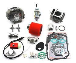 88cc Big Bore Race Head & Carb Kit Honda Z50, XR50/CRF50 XR70/CRF70, & CT70