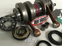 Banshee 350 66mm 370cc Big Bore Wiseco Pistons Hotrods Crank Bottom Rebuild Kit