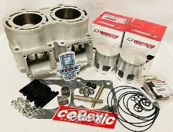 Banshee 421 Cub Cylinder Big Bore Top End Rebuild Kit 4 mil 68 Bore CPI Cheetah