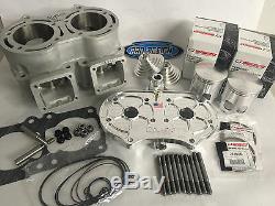 Banshee 472cc 72m 4 Mil Super Cub Cylinder NOSS Billet Head Big Bore Top End Kit