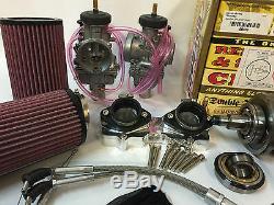Banshee 472cc Supercub Hotrods Wiseco 38mm PWK Cub Complete Big Bore Stroker Kit