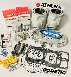 Banshee Athena 421 Stroker Big Bore Complete Top End Gasket Kit Cool Head Cub