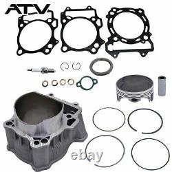 Big Bore Cylinder Piston Gasket Top End Kit for Suzuki LTZ 400 434cc 2003-2014