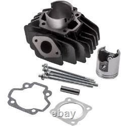 Big Bore Kit Cylinder Piston Kit Top End Head For Yamaha PW50 QT 50 60cc 81-2009