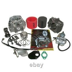 Big Bore & Race Head Kit Honda XR50 CRF50 Dirt Pit Bike 2000 2001 2002 2003 2004
