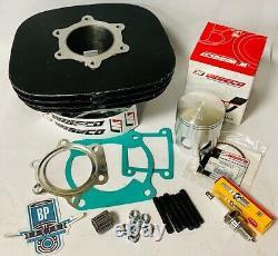 Blaster Big Bore Kit 68 mil Cylinder Complete Top End Rebuild Wiseco Piston