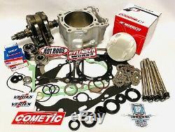 CRF150R CRF 150R Big Bore Stroker Crank Motor Rebuild Complete Kit CP JE Hotrods