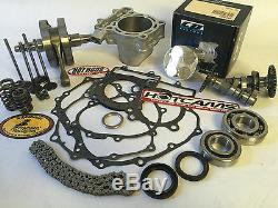 DRZ400 400S 400SM 94mm 470 Hotrods Hotcams Kibblewhite Big Bore Stroker Kit