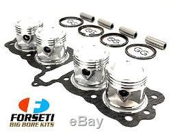 HONDA CB550F SOHC 74-78 600cc FORSETI BIG BORE KIT 61.5mm PISTON RINGS GASKET