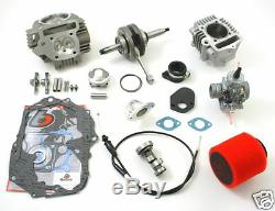 Honda Crf50 Xr50 108cc Big Bore Stroker Crankshaft Carb Head Kit Z50 Crf Xr 50