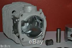 Husqvarna 350, 353, 345 Cylinder And Piston Kit Big Bore, 45mm, Close Ports, New