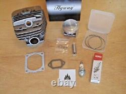 Hyway Big Bore cylinder pop up piston kit Caber for Stihl MS660 066 56mm