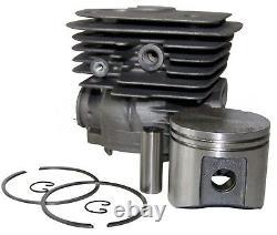 Hyway Husqvarna 362 365 371 372 52mm Big Bore Cylinder Kit New 1yr Warranty