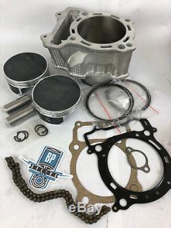 LTZ400 LTZ 400 Z400 Big Bore Kit Cylinder JE 121 Top End Rebuild Chain