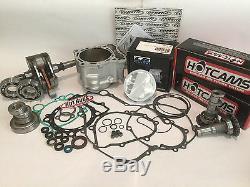 LTZ400 LTZ 400 Z400 Big Bore Stroker Crank Rebuild Kit 470 Hotrods Hotcams JE CP