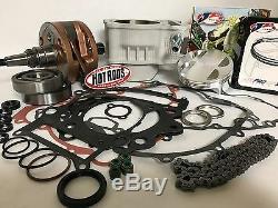 LTZ400 LTZ KFX 400 Z400 Big Bore Stroker Motor Rebuild Kit 94 mil Cylinder 470