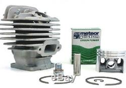 Meteor cylinder piston kit for Stihl MS260, 026 Big Bore 44.7mm with gaskets seals