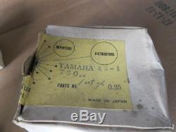 NOS MC Yamaha XS-1 650cc to 750cc Big Bore Kit Piston and Rings 80.25mm Japan