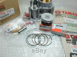 New Genuine Yamaha YZF R125 WR125 TE125 Big Bore Cylinder Kit 150cc