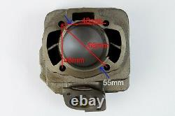 Performance big bore kit 48mm 80cc cylinder+ pipe for Honda DIO 50 AF18E 1994