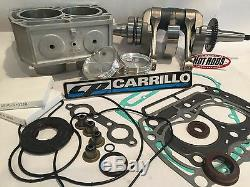 RZR800 RZR RZRs 800 83mm 820 Big Bore Cylinder CP Hotrods Motor Rebuild Kit
