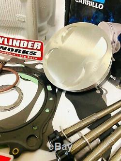 Raptor 660 Big Bore Kit 102 mil Cylinder Piston 686 Top End Rebuild JE Wiseco CP