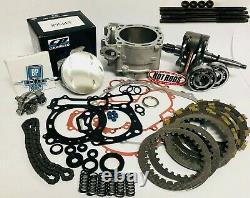 Raptor 660 Big Bore Stroker Motor Engine Rebuild Kit Oil Pump 719 +4mm COMPLETE