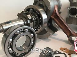 Raptor 660 Cases Big Bore Stroker Motor Engine Top Bottom Complete Rebuild Kit