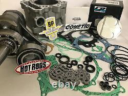 Raptor 660 Motor Rebuild Kit 686 Big Bore JE Piston Crank Complete Top Bottom