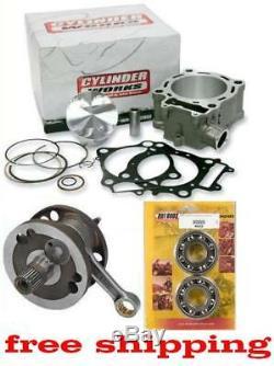 Rebuild Kit HOTRODS Suzuki DRZ400 469cc Big Bore Cylinder, Piston Stroker Crank