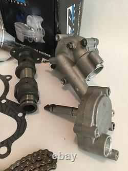 Rhino 660 Big Bore Stroker Crank Kit Complete Motor Rebuild Top Bottom End 719cc