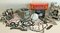 Rhino Grizzly 660 Big Bore Stroker Complete Motor Kit 102 mil Top Bottom End JE