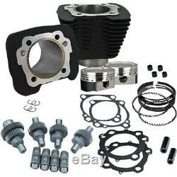 S&S Cycle Wrinkle Black 883cc to 1200cc Hooligan Big Bore Kit XL 00-17