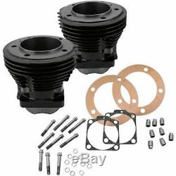 S&S Cylinder Engine Jugs Kit Package 3.625 Big Bore 1966-1984 Shovelhead Harley